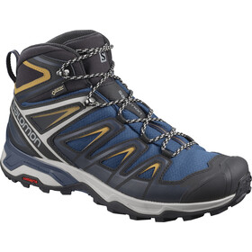 Salomon X Ultra 3 Mid GTX Shoes Men sargasso sea/dark sapphire/bistre